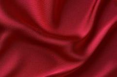 czerwony atłas gładko zdjęcia royalty free