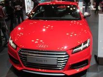 Czerwony Audi TT 2015 Nowy Jork Międzynarodowy Auto przedstawienie Obraz Royalty Free