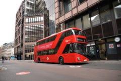 Czerwony autobus Obraz Royalty Free