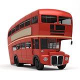 Czerwony autobusowej trasy mistrz Obraz Stock