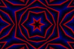 Czerwony Błękitny Abstrakcjonistyczny tło obrazy royalty free