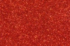 Czerwony błyskotliwości tekstury tło Zdjęcia Royalty Free