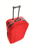 Czerwony bagaż Zdjęcie Royalty Free