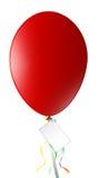 czerwony balonowa Fotografia Royalty Free