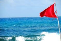 czerwony bandery Fotografia Stock