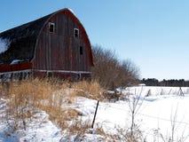 czerwony barn Zdjęcia Stock