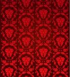 czerwony barokowa Obraz Royalty Free
