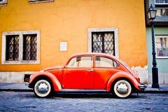 Czerwony Beatle Zdjęcie Stock