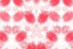 Czerwony bezszwowy tło wzór Obrazy Stock