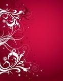 czerwony białe tło ilustracja wektor