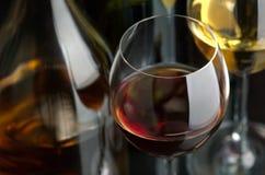 czerwony biały wino Obraz Royalty Free