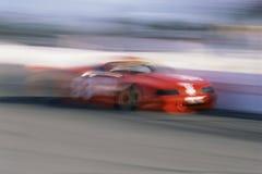 Czerwony Bieżny Samochód Obrazy Stock