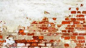 Czerwony biel ściany tło Obrazy Stock
