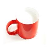czerwony biel Zdjęcia Stock