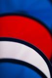 Czerwony Błękitny i Biały Zdjęcia Royalty Free