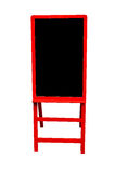 Czerwony blackboard Fotografia Stock