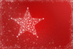 Czerwony bożego narodzenia tło Zdjęcia Stock