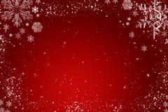 Czerwony bożego narodzenia tło Zdjęcie Royalty Free
