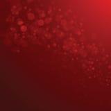 Czerwony Bokeh Zdjęcia Royalty Free