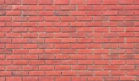 Czerwony brązu bloku ściana z cegieł Pięknie układał tekstury backgrou Obrazy Royalty Free