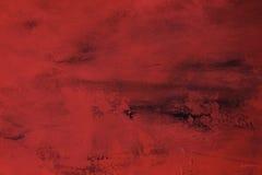 Czerwony brezentowy tło Fotografia Stock