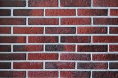 Czerwony brickwork Fotografia Stock