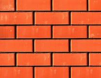 czerwony brickwork Obraz Stock