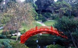 czerwony bridge Fotografia Stock