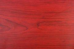 Czerwony Brown drewna wzór Zdjęcia Stock