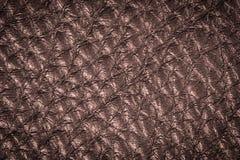 Czerwony brown rzemienny tekstury tło dla projekta Zdjęcia Royalty Free