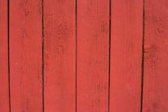 Czerwony brud malująca drewniana tekstura zdjęcie stock