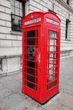 Czerwony Brytyjski telefonu budka Fotografia Royalty Free
