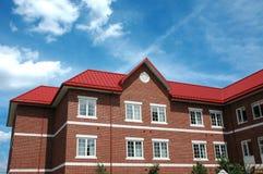 czerwony budynek Obrazy Royalty Free