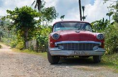 Czerwony Buick Zdjęcia Royalty Free
