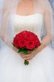Czerwony bukiet Obraz Royalty Free