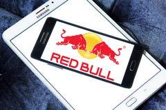 Czerwony byka logo Fotografia Royalty Free