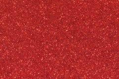 Czerwony błyskotliwości tekstury tło Obrazy Stock