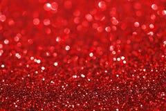 Czerwony błyskotliwości tło Obrazy Stock