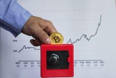 Czerwony Cashbox fotografia stock