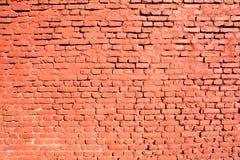 czerwony cegły Fotografia Royalty Free