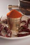 Czerwony Chłodny proszek. zdjęcie royalty free