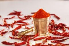 Czerwony Chłodny proszek. zdjęcia stock