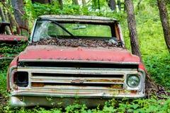 Czerwony Chevrolet obraz stock