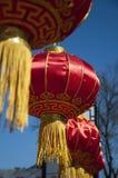 Czerwony Chiński lampion Zdjęcia Royalty Free
