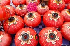 Czerwony chiński lampion Obraz Royalty Free