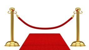 Czerwony chodnik zdjęcia royalty free