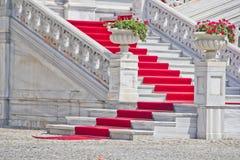 Czerwony chodnik Fotografia Royalty Free