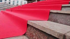 Czerwony chodnik zbiory wideo