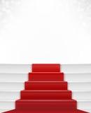 Czerwony chodnik royalty ilustracja