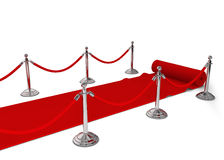 Czerwony chodnik Obraz Royalty Free